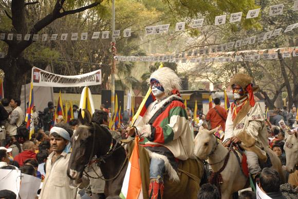 Peace rally at Jantar Mantar